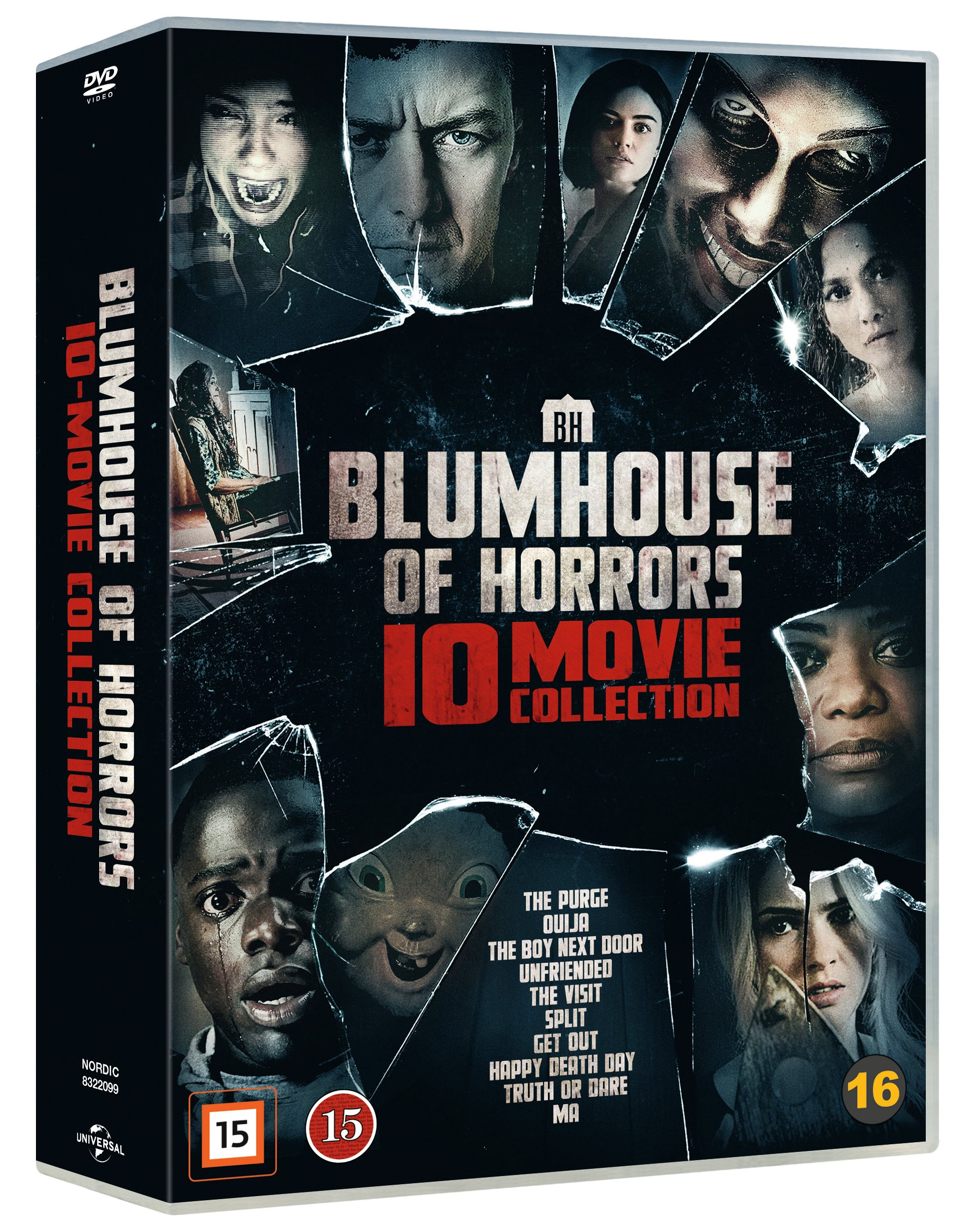 Blumhouse Of Horrors – 10 Movie Coll - DVD