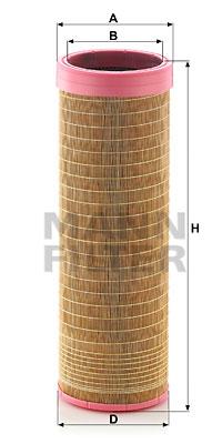 Toisioilmasuodatin MANN-FILTER CF 18 202
