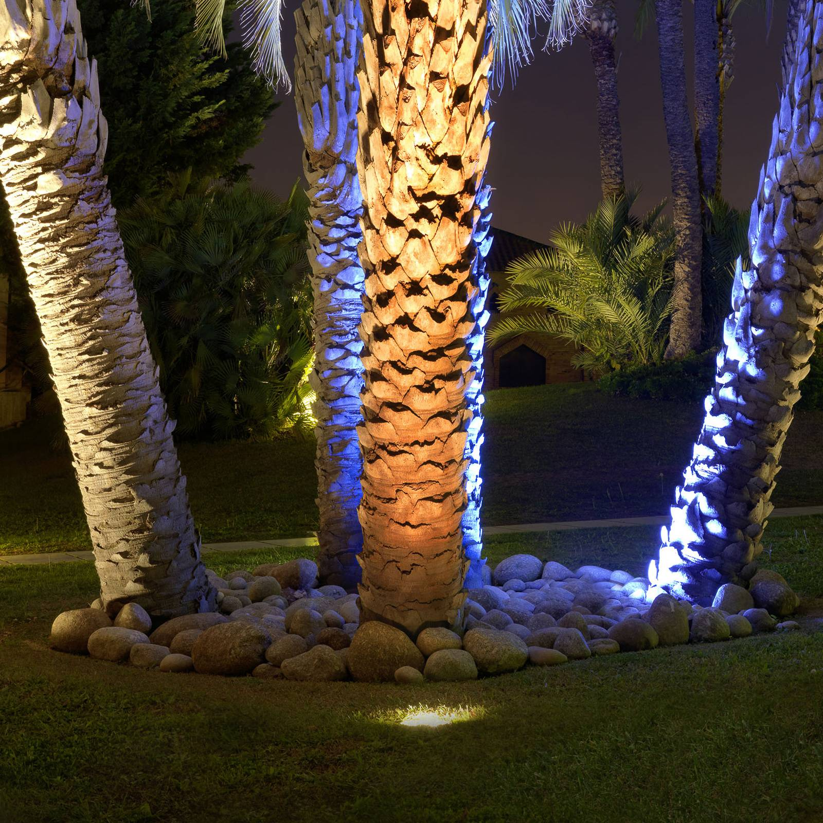 9 W:n upotettava LED-maaspotti Gea
