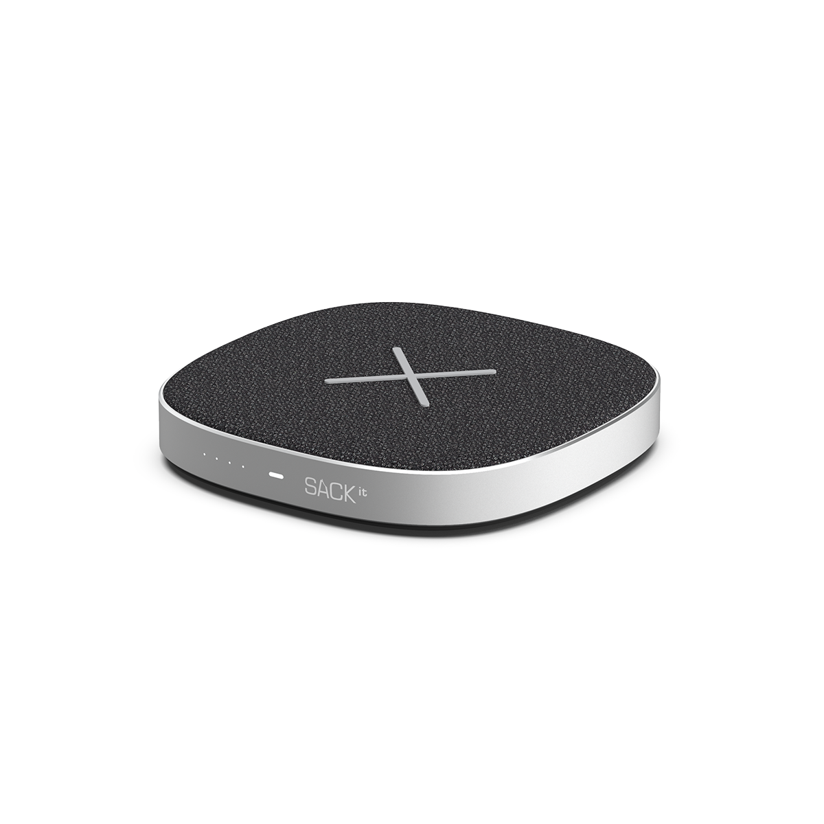 SACKit - CHARGEit Care power bank & wireless charger Black