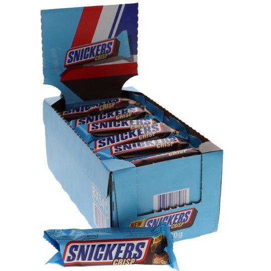 Snickers Crisp 24-pack - 32% rabatt