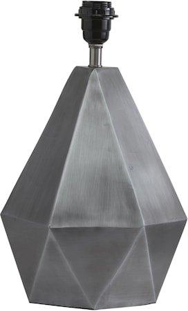 Trinity Lampefot Matt Sølv 39cm