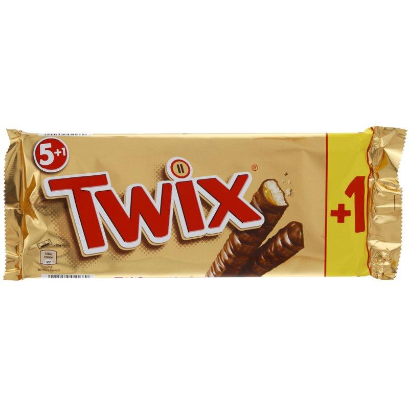 Twix 6-Pack 300g - 50% rabatt