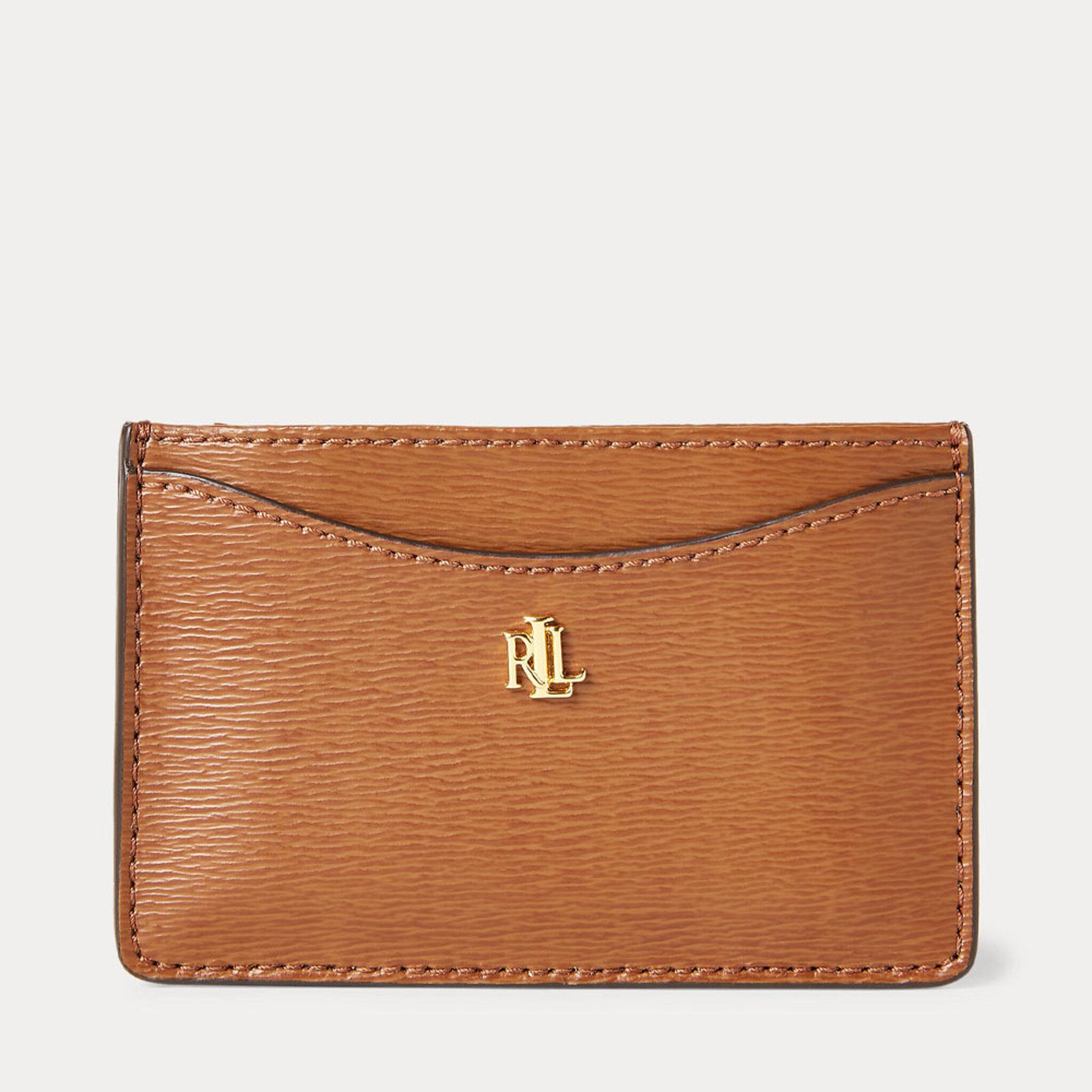 Saffiano Leather Card Case, OS