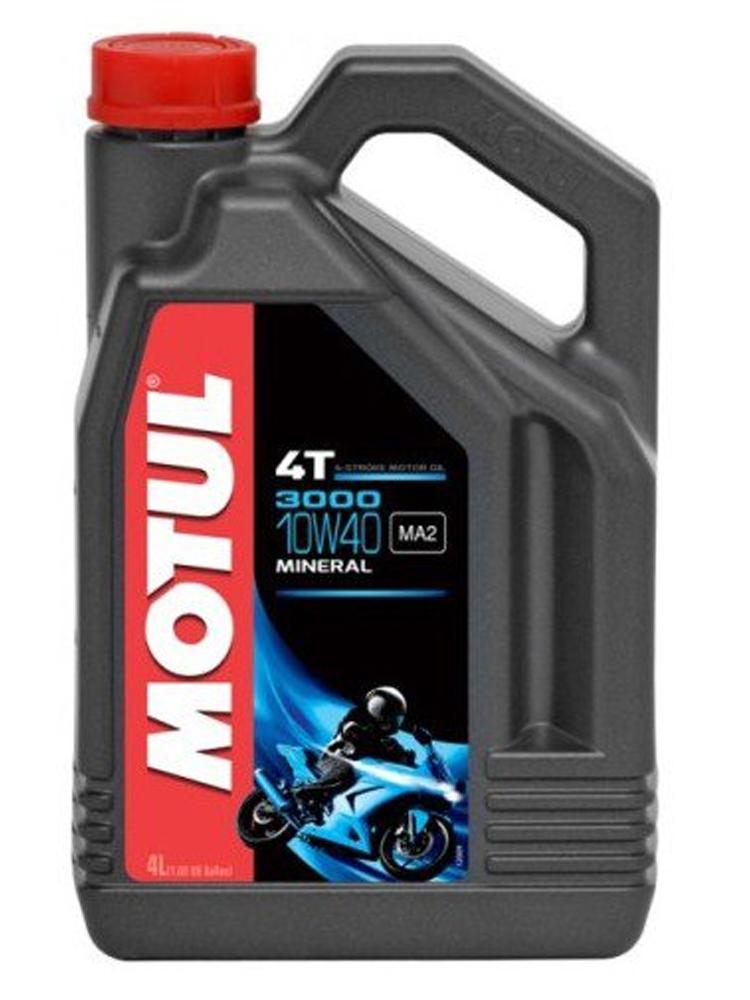 Moottoriöljy MOTUL 3000 4T 10W40 4L
