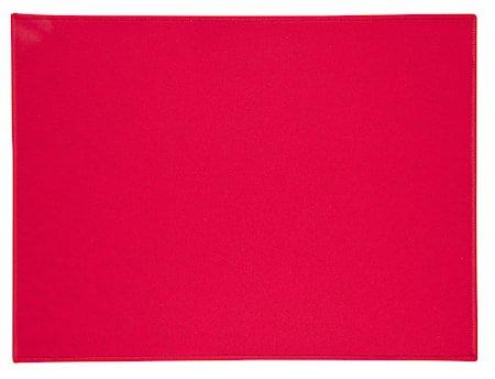 Brikke Rød 40x30 cm