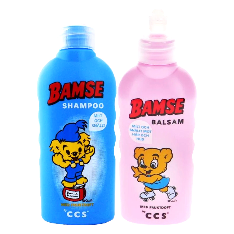 Bamse Schampo + Balsam - 61% rabatt