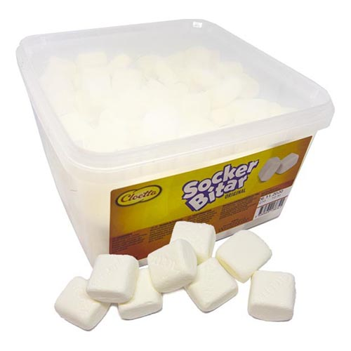 Sockerbitar Lösvikt i Burk - 0.82 kg