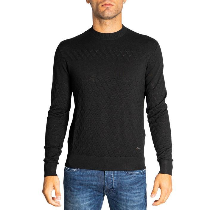 Emporio Armani Men's Knitwear Black 321267 - black XS