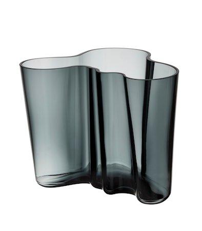 Aalto vase 16 cm, mørkegrå