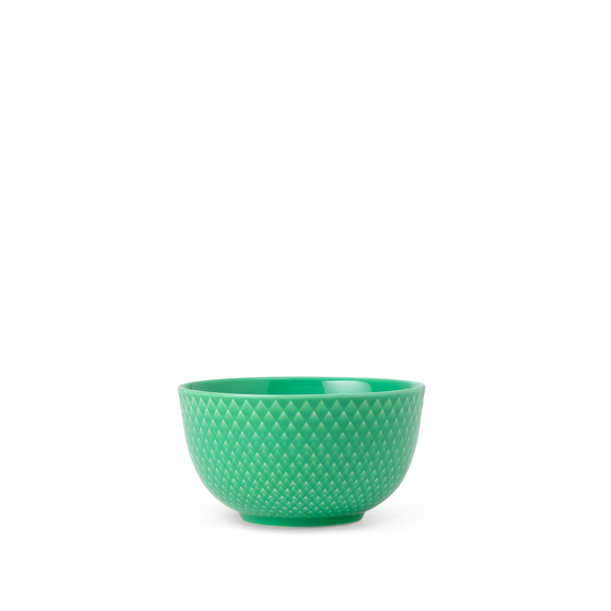 Lyngby Porcelæn - Rhombe Color Bowl Dia. 11cm - Green (201902)