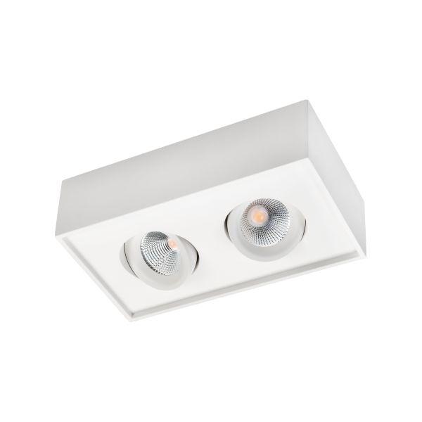 SG Armaturen Cube Lux Downlight-valaisin 2x7 W, 1080 lm