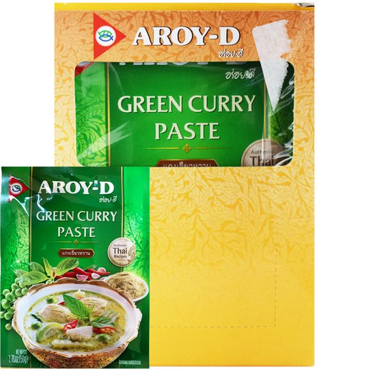 Vihreä Currytahna 12 x 50g - 46% alennus