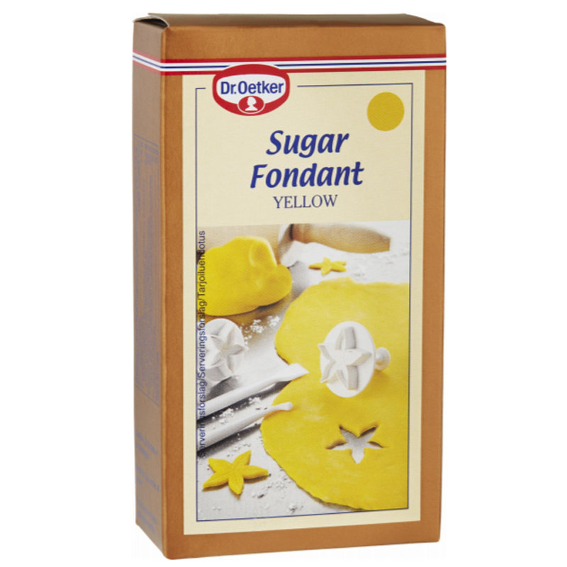 Sokerimassa Keltainen 250g - 67% alennus