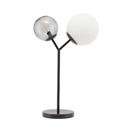 Bordlampe Twice - Svart