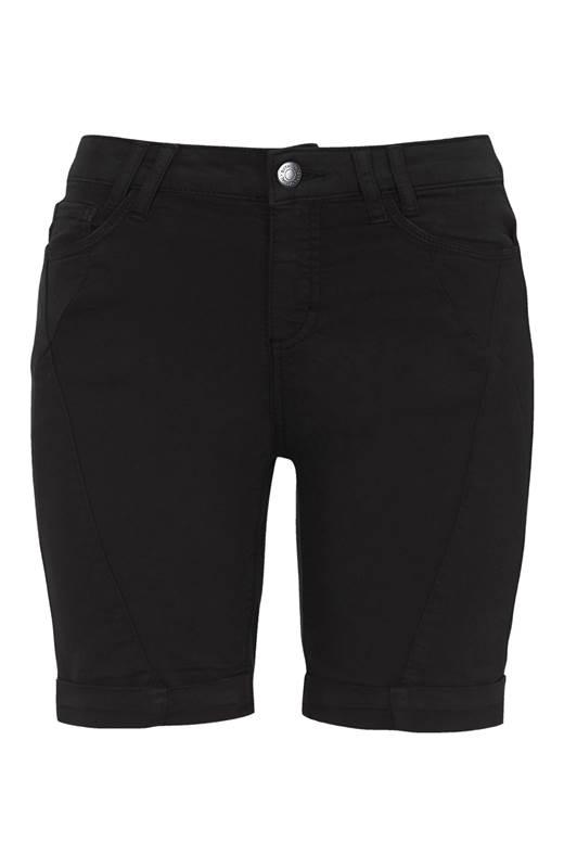 Soyaconcept Shorts med stretch Paulana Svart