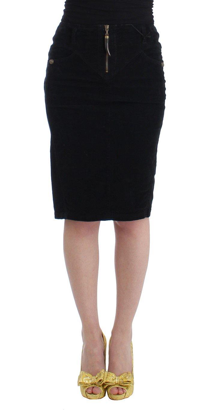 Cavalli Women's Skirt Black SIG11823 - IT40|S