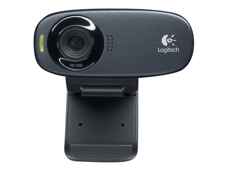 Logitech - C310 Webcam Black USB 2.0