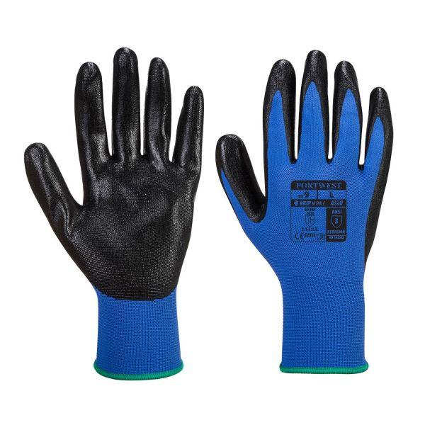 Portwest Dexti-Grip Handske blå S