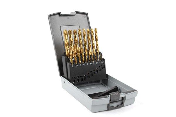 Borrkassett TIN 1-10mm. plast