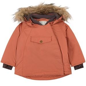 Mini A Ture Wang Faux Fur Jacka Aragon Red 12m/80cm