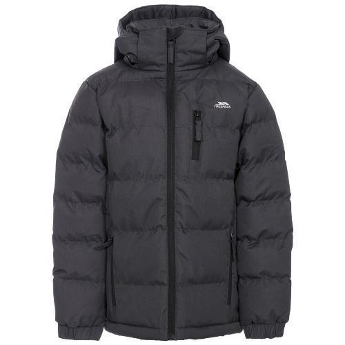 Trespass Kid's Boy Jacket Various Colours Tuff - Dark Grey 3 to 4 Years