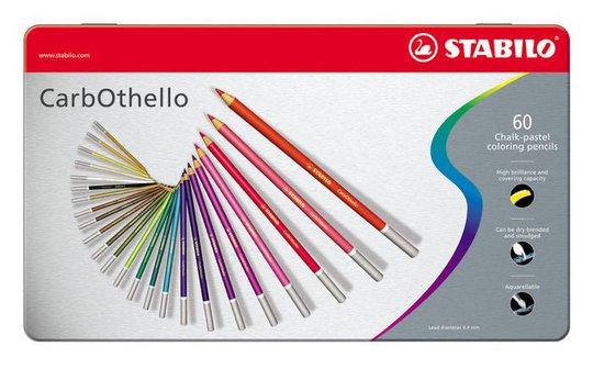 STABILO Fargepenn Premium 60-pack I Metalletui