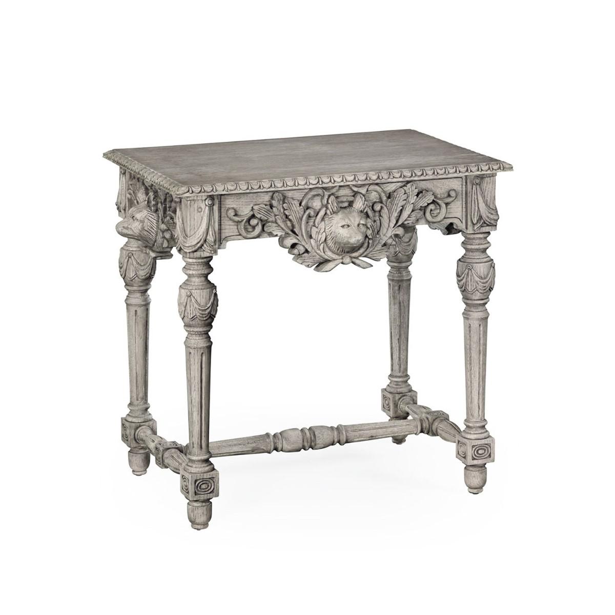 William Yeoward |Godwyn Side Table Greyed Oak