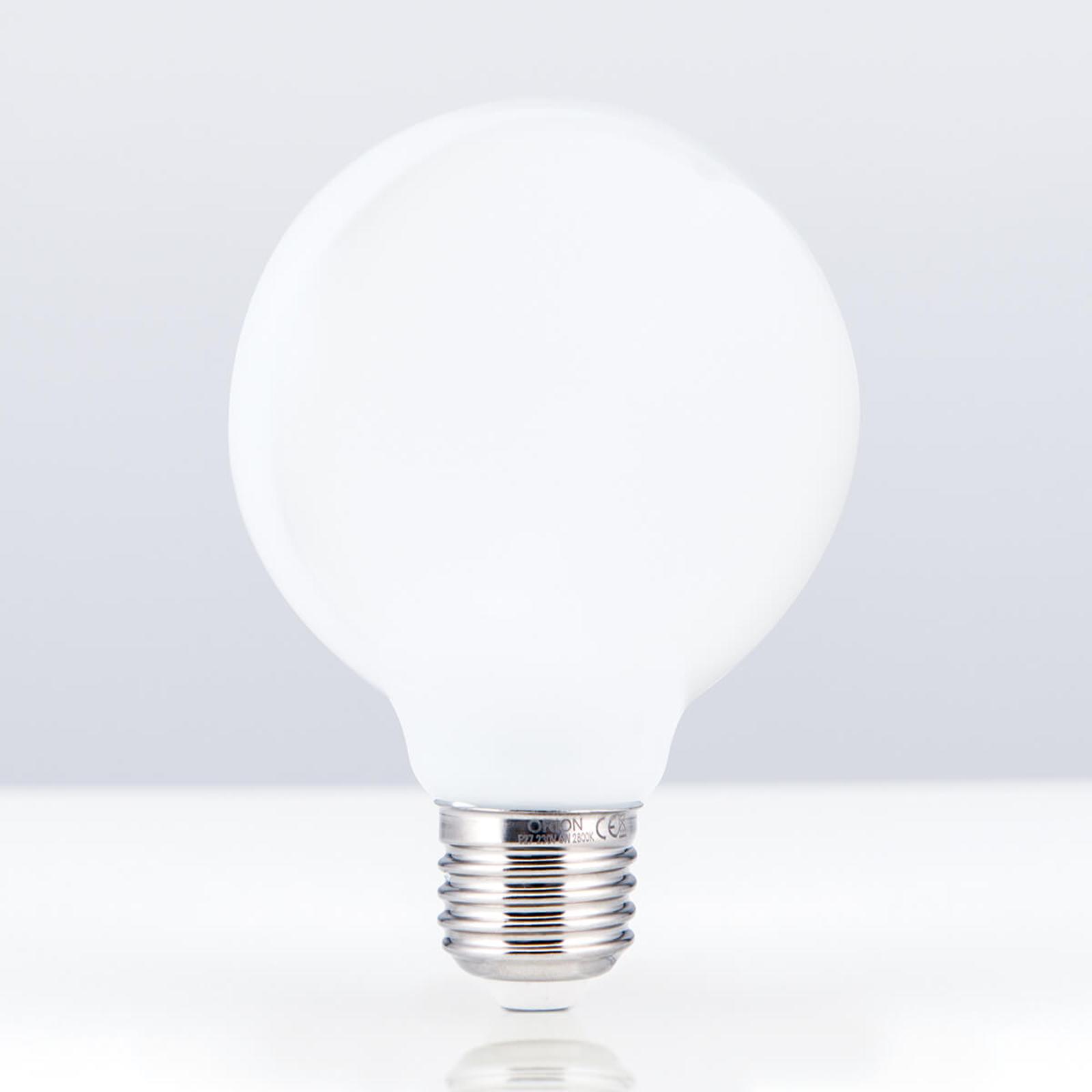 LED-pallolamppu G80 E27 6 W 828, opaali
