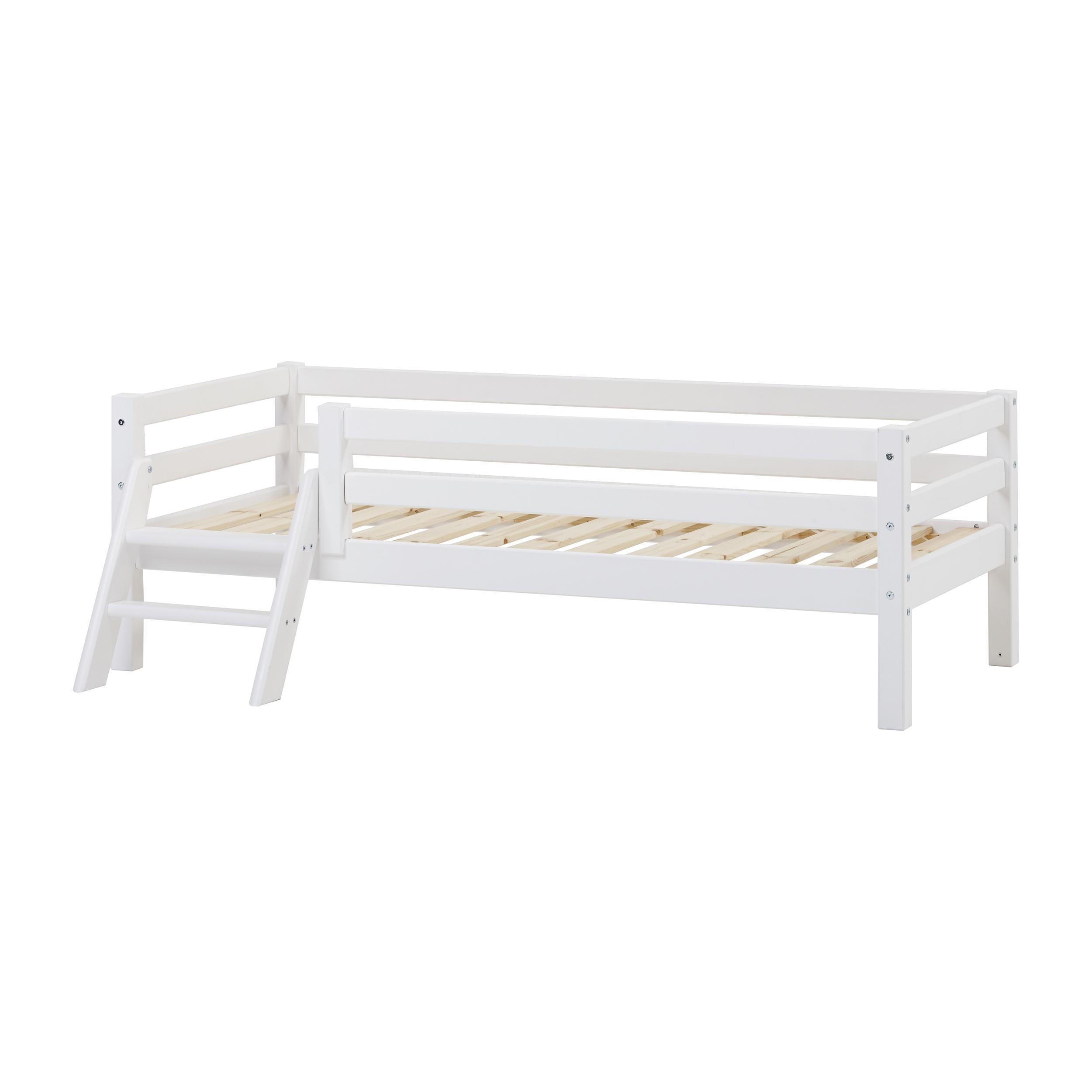 Hoppekids - BASIC Junior bed w. Ladder 70×160 cm