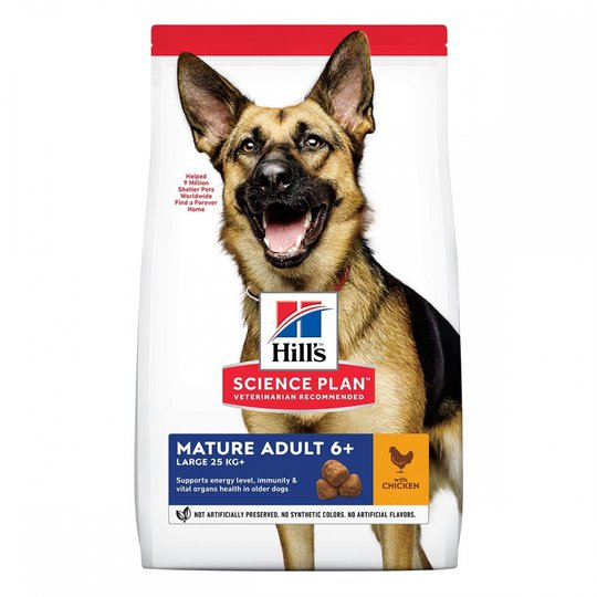 Hill's Science Plan Dog Mature Adult 6+ Large Breed Chicken 14 kg