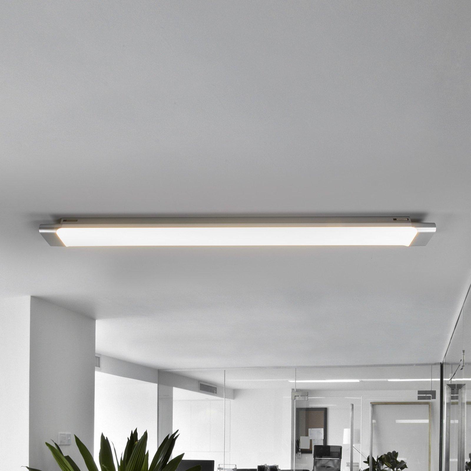 Praktisk LED-taklampe Vinca, 90 cm