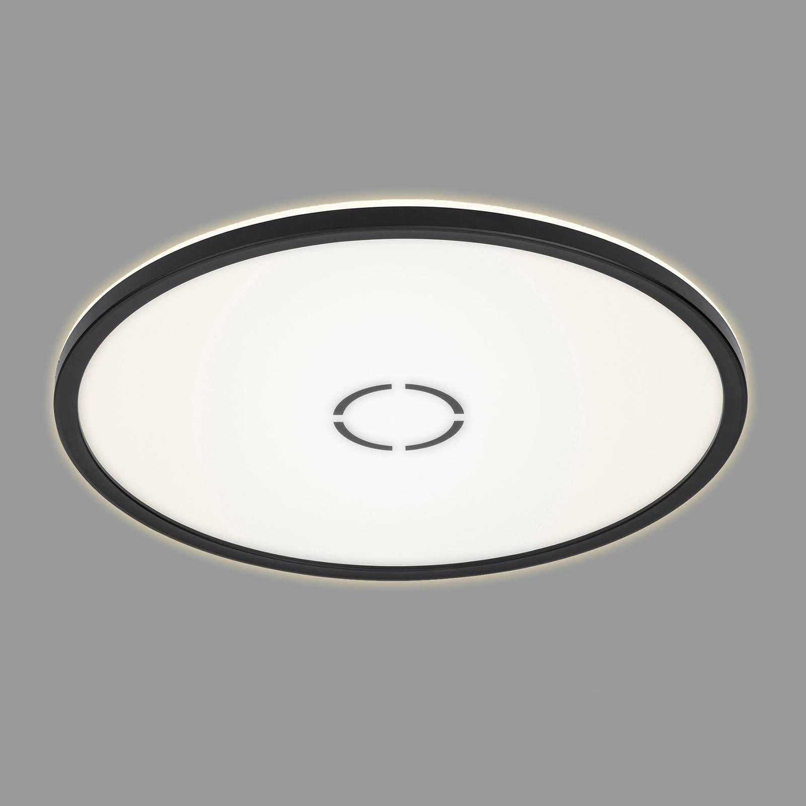 LED-taklampe Free Ø 42 cm svart
