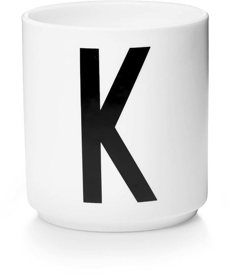 DL Kopp Porselen K, Hvit