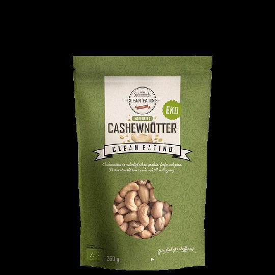 Ekologiska Cashewnötter, 250 g