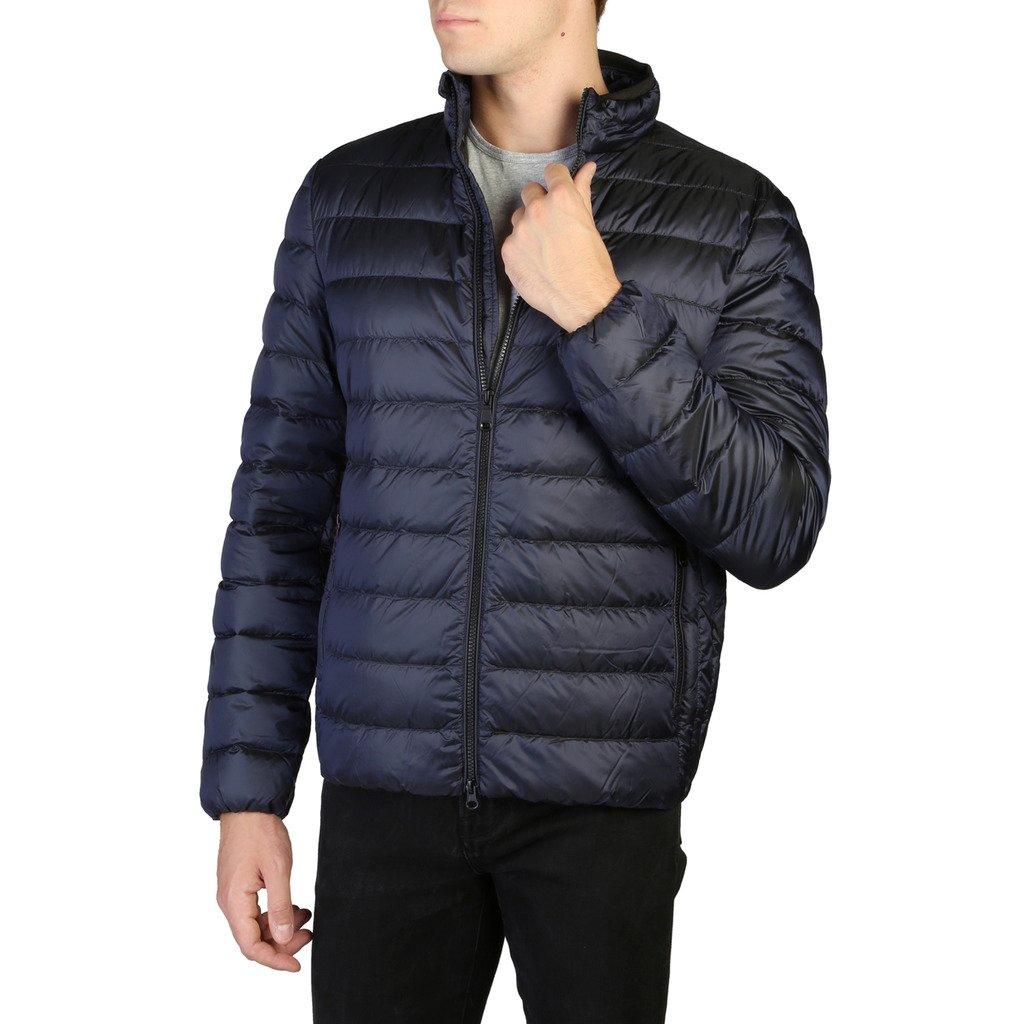 Geox Men's Jacket Blue M9425DT2566 - blue 46