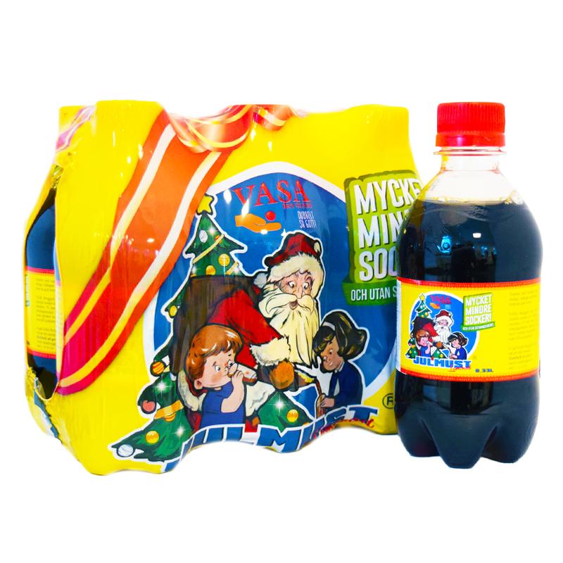 """Julmust """"Vasa"""" 6-pack - 74% rabatt"""