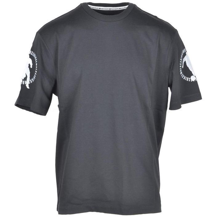 Bikkembergs Men's T-Shirt Black 222896 - black L