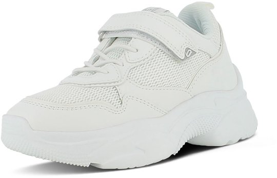 Leaf Tuna Sneaker, White, 28
