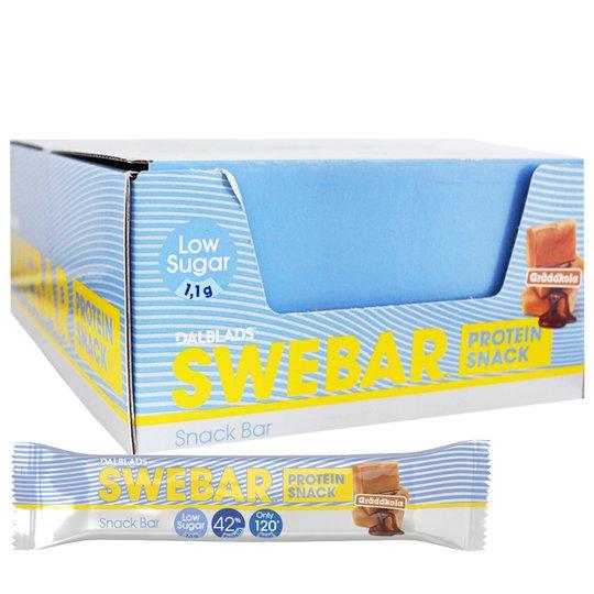 Proteinbars Gräddkola 24-pack - 40% rabatt
