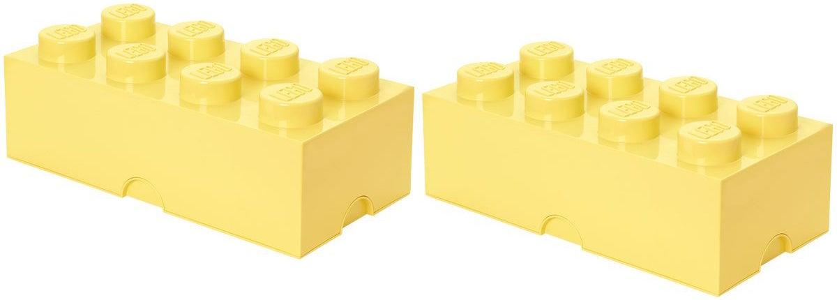 LEGO Säilytyslaatikot, Keltainen