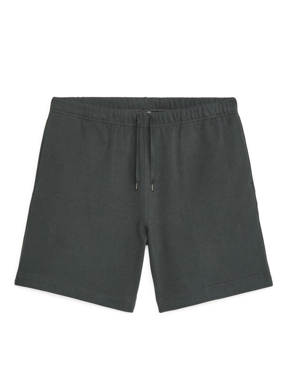 Drawstring Sweatshorts - Grey