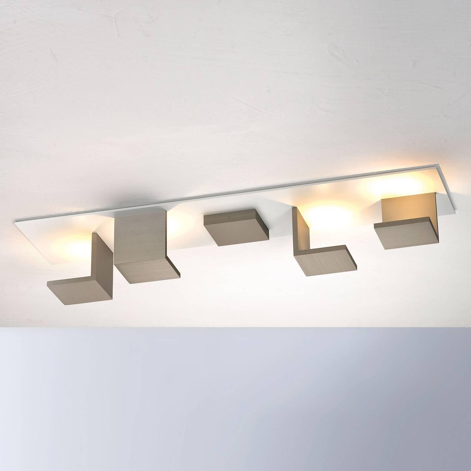Bopp Reflections LED-kattovalaisin pitkä taupe