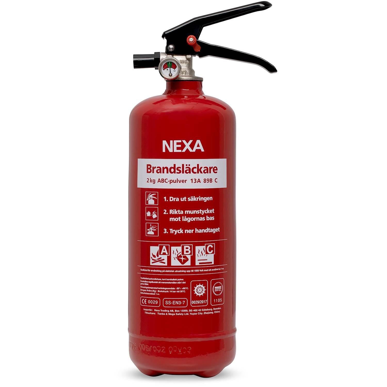 Nexa Brandsläckare PG-2 2 kg