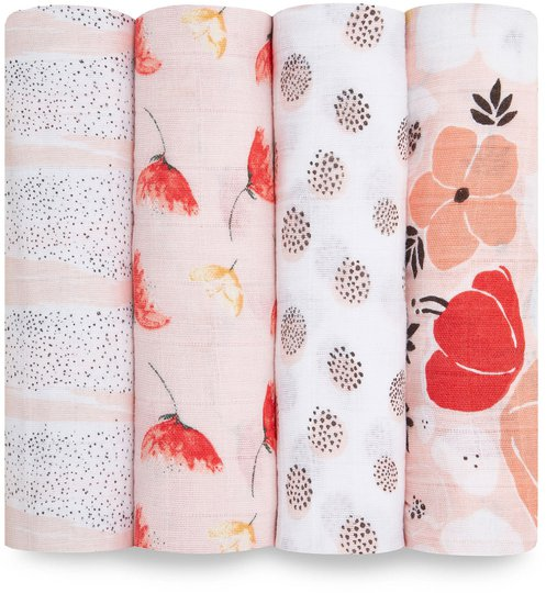 Aden + Anais Teppe Picked For You 120x120 4-pack