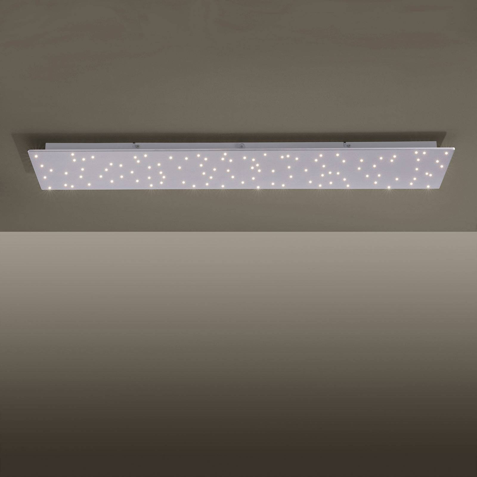 Sparkle LED-taklampe, tunable white, 100 x 25 cm
