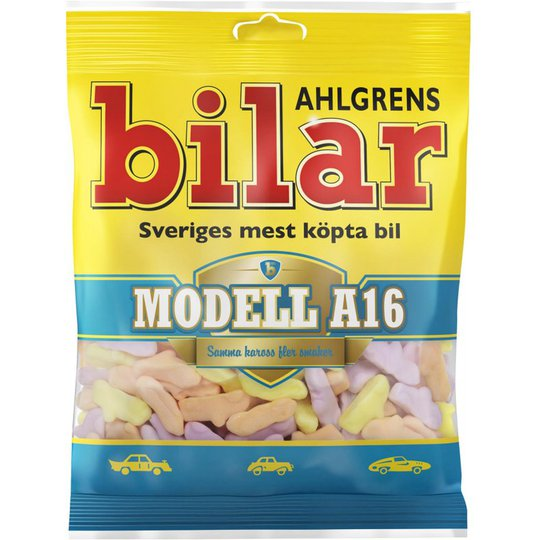 "Ahlgrenin Autot ""Modell A16"" 125g - 34% alennus"