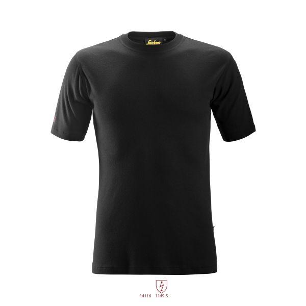 Snickers 2563 ProtecWork T-skjorte svart XS