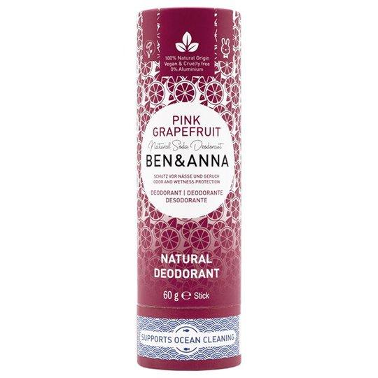 Ben & Anna Natural Soda Deo Stick Pink Grapefruit, 60 g