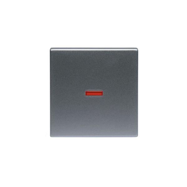ABB 1789-83 Yksi kosketin 1-suuntainen, punainen linssi Alumiini
